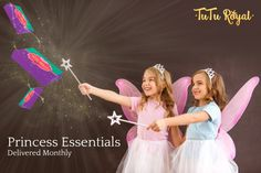 TuTu Royal is a monthly delivery of princess dresses, tutu's, tiaras and tools of STEM empowerment.