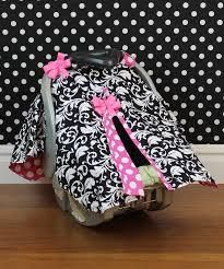 girl carseat cover