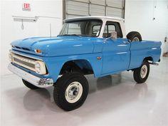 GMC 1 2 Ton Truck   1966 Chevrolet 1 2 Ton 4X4 Pickup Lot 854 2014 Barrett Jackson