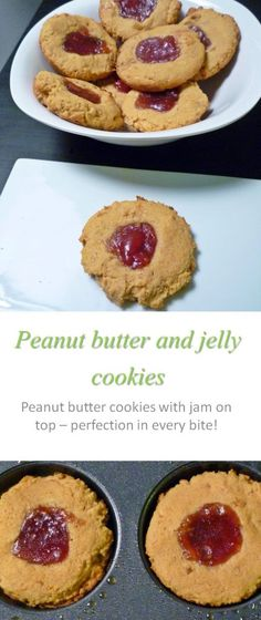 The classic peanut butter and jam combination in a bite-sized gluten and dairy-free parcel, inspired by Gordon Ramsey