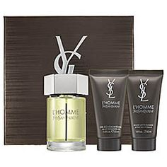 My man became edible. such a great mens fragrance.   Yves Saint Laurent - Ľ Homme Gift Set