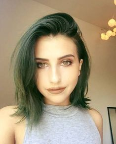 Pin By Shelby Griffin On العناية بالشعر Olive Hair Olive Hair Colour Green Hair