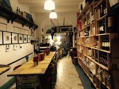 View from the rear of the restaurant. ON EXHIBIT:Biroldo della Garfagnana from Keane and Da Prato's Love Project. #barga #loveproject #studiodikeane #biroldo