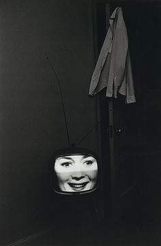 lee friedlander: american photographer friedlander made a series of tv set photos in the early 60s