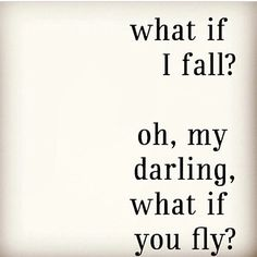 I really like this quote, because it can relate to a lot of things on my life - dancing, taking chances etc