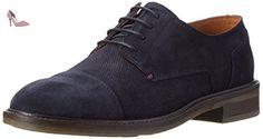 Tommy Hilfiger R2285ounder 4b, Oxfords Homme, Bleu (Midnight 403), 44 EU - Chaussures tommy hilfiger (*Partner-Link)