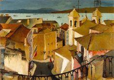 MNAC: Lisboa e o Tejo; Domingo. 1935. Carlos Botelho
