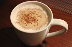 Make with your hands: Pumpkin-Spiced Faux-Latte {Dairy-Free, Paleo}