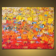 Huge Painting Original Large Abstract Modern by CampeauFineArt