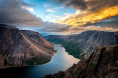 Saglek Fjord in Torngat Mountains National Park Newfoundland and Labrador Canada x By Gary Arndt - snowsnothing - Canada Travel, Travel Usa, American National Parks, Newfoundland And Labrador, Great Vacations, Travel Photographer, The Great Outdoors, Travel Photos, Travel Tips