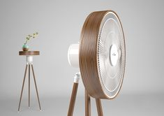 Fan plus table ,make a new things ! Room Interior Design, Interior Decorating, Unique Furniture, Furniture Design, Industrial Fan, Industrial Design, Wooden Fan, Air Fan, Floor Fans
