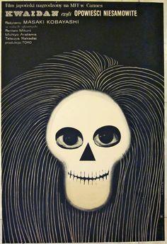 1966 POLISH POSTER - KWAIDAN