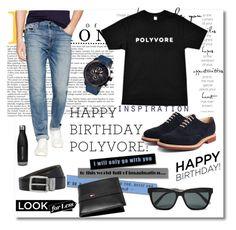 """Happy Birthday, Polyvore!"" by meldin ❤ liked on Polyvore featuring Joe's Jeans, Church's, MOS, Tommy Hilfiger, Bottega Veneta, BOSS Hugo Boss, women's clothing, women, female and woman"