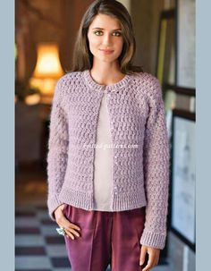 Classic Cardigan - Free crochet pattern