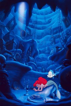 The Little Mermaid iPhone backgrounds. Feel free to use it.