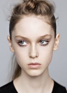 No make-up look is the hardest to pull off Perfect Makeup, Pretty Makeup, Makeup Looks, Perfect Skin, Just Beauty, Beauty Full, Beauty Makeup, Hair Makeup, Hair Beauty