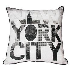 NY Type Cushion - GrahamBrownCA