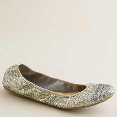 Lula glitter ballet flats. Gorgeous and comfy!