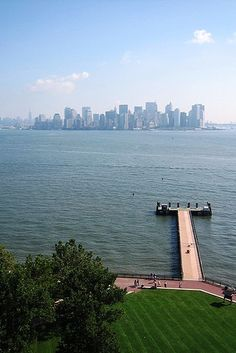 NYC - View from Liberty Island