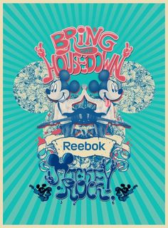 Mickey Rock for Reebok