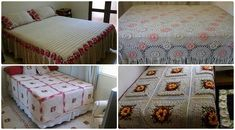 Informante: Extra Online: Obras de cama de crochê surpreendentes e criativos
