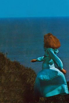 Carrie Nygren and Kathy Quirk by Guy Bourdin Vogue UK 1975   Architect's Fashion