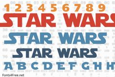 Star Jedi font, aka Star Wars font is a techno, science-fiction font designed by Boba Fonts. Star Jedi font is free for both personel and commercial usages. Star Wars Invitations, Printable Birthday Invitations, Embroidery Fonts, Cross Stitch Embroidery, Girls Star Wars Party, Star Wars Font, Reading Day, Cool Lettering, Techno