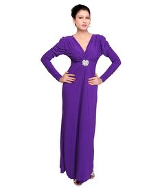 Buy Jina Purple Others Gowns Online at Best Prices in India - Snapdeal