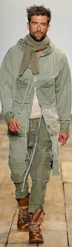 Greg Lauren Spring 2016 Menswear Collection