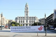 Porto,  Best European Destination 2012 - Av. dos Aliados