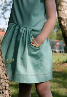 The Lotta dress pattern tour: leven met Liv