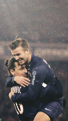 David Beckham in his PSG days