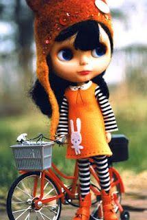Blythe in orange