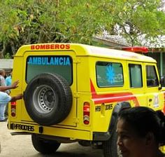 Ambulance in Honduras