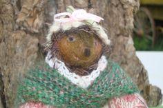 HedgeHog, Needle Felted, Soft Sculpture, Beatrix Potter Inspired Felted Animal, Mrs. Tiggy Winkle Hedgehog, Wool, Alpaca, READY TO SHIP via Etsy