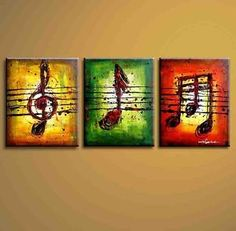 FabuArt offers hand-painted contemporary art painting, large canvas artwork, abstract art, landscape art, modern metal wall art & oil paintings for interio Modern Oil Painting, Music Painting, Oil Painting Abstract, Abstract Canvas, Canvas Art, Music Canvas, Three Canvas Painting, Small Canvas, China Painting