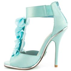 Bloom - Blue Satin Something Blue By Betsey Johnson $129.99