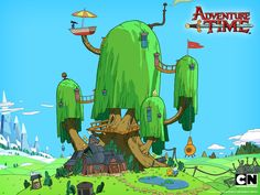 adventure time tree house - Google Search