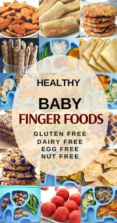 Toddler meals 12807180179098539 - 20 Finger Foods For Baby / Toddler On A Gluten, Dairy, Egg Free Diet Dairy Free Snacks, Dairy Free Breakfasts, Dairy Free Eggs, Dairy Free For Baby, Dairy Free Kids Meals, Dairy Free Diet, Lactose Free, Egg Free Recipes, Baby Food Recipes