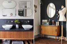 Gosto muito dessa seleção. Do Mid Century Modern ao vintage divertido...                                 Gostaram?