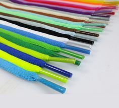 New 2015 Hot 2PCS New Oval Athletic Shoelaces Sport Sneaker Boots Shoe Laces Strings