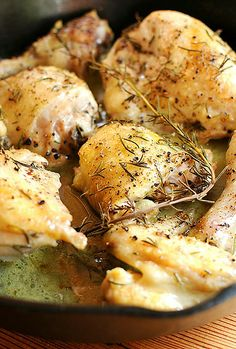 Basic Roasted Chicken  How to roast chicken—it's easy! AND quick too.