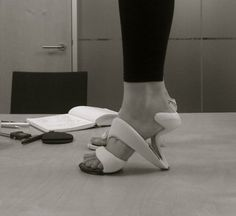mojito sculptural shoes