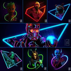 Guardians of the Galaxy Vol.2 ||   Baby Groot,Drax,Rocket Raccoon,Peter Quill (Star-Lord),Gamora,Mantis,Nebula