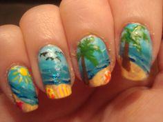 fingernail art scene - Google Search