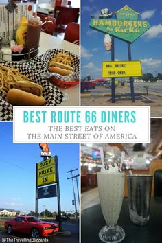 Best Route 66 Diners- The Best Eats on the Main Street of America - Route 66 is only a couple hours north of Phoenix, in Flagstaff, Arizona. Why not use Route 66 as a - Road Trip Map, Route 66 Road Trip, Travel Route, Road Trip Hacks, Travel Usa, Road Trips, Route 66 Usa, Route 66 Arizona, Arizona Travel
