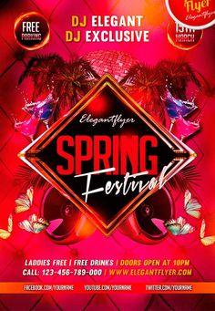 - http://freepsdflyer.com/spring-festival-free-psd-flyer-template-facebook-cover/  #Club, #Dance, #EDM, #Electro, #Festival, #Hot, #Party, #Spring, #SpringBreak, #Summer, #Techno, #Trance