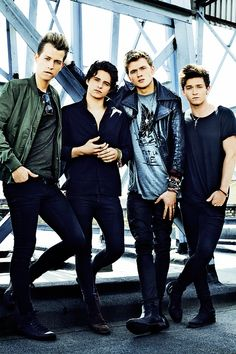 The Vamps for Fabulous Magazine