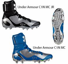 Under Armour Cam Newton's C1N MC cleats available in both youth and adult sizes!  http://leagueoutfitters.com/collections/football-footwear/products/underarmourc1nmc