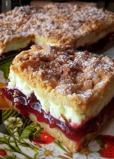 Polish Desserts, Polish Recipes, Yummy Food, Tasty, Sweets Cake, Sandwiches, Food And Drink, Cooking Recipes, Chocolate